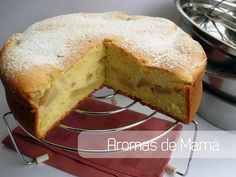 Aromas de Mamá | Recetas de Cocina | aromasdemama.com: Torta húmeda de manzanas (un clásico en la cocina)