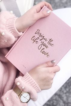 """Campina """"Mesh"""" - Campina """"Mesh"""" - Knitting , lace processing is one of the most beautiful hobbies that girls will no. Notebook Design, Diy Notebook, Pink Love, Pretty In Pink, Kapten & Son, Mode Rose, Deco Rose, Watercolor Flower, Book Aesthetic"""