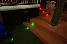 Geco da Incasso colorati anche nei RISTORANTI!  *luci led a ricarica solare* www.gecoluce.it