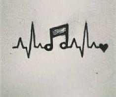 Resultat d'imatges de dibujos a lapiz sencillos musica