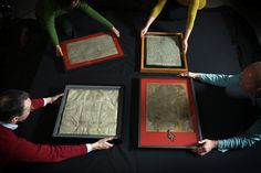 The History of the Magna Carta | History | Smithsonian I saw the copy of the Magna Carta that is found in Lincon Cathedral while it spent a month in Boston. One of the thrills of my life