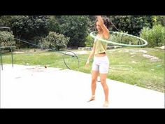 Angel and back - hooping trick Hooray i have to learn this one