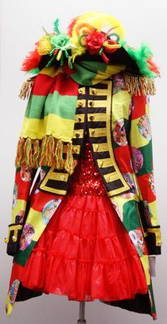 Carnaval jas dames Limburg Color Party