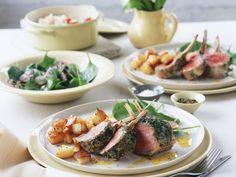 Lammrücken mit Senfkruste ist ein Rezept mit frischen Zutaten aus der Kategorie Lamm. Probieren Sie dieses und weitere Rezepte von EAT SMARTER!