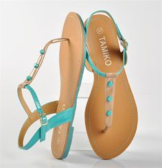 sandales turquoise, chaussure femme, femme - Chaussures Desmazieres