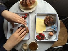 Breakfast at Mirabelle: Copenhagen, Denmark