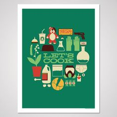 Breaking Bad inspired art print 18x24 by AndrewHeath on Etsy, $20.00