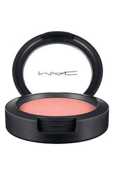 M·A·C 'Office Hours' Pro Longwear Blush   Nordstrom in Stay By Me- very pale peach blush.  Idiot proof blush for the extreme fair (such as myself).  Gorgeous.  Don't use it if you have even medium skin because it won't show up.