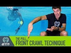 The pull phase of the front crawl stroke is the propulsive phase - when the hand and arm are pulling against the water. Get this part of the stroke right, an. Swimming Pool Exercises, Swimming Drills, Swimming Tips, Open Water Swimming, Kids Swimming, Triathlon Swimming, Spin Bike Workouts, Outdoor Workouts, Swim Workouts