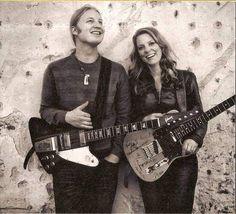 Susan Tedeschi and husband Derek Trucks. What a great couple.
