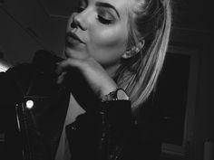 #black #white #blonde #polishgirl
