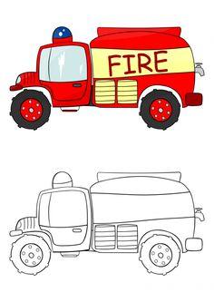 Fire Truck - KidsPressM agazine.com