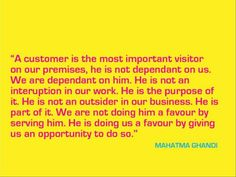 Customer Service - Words to Work By