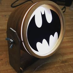 Batman LED Light Box by Gearbox Designs  The by GearboxDesigns