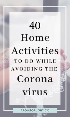 Here are 40 fun social distancing home activities to keep you & your family busy while staying home to avoid contracting & spreading the Coronavirus. Activities For Adults, Fun Activities To Do, Home Activities, Indoor Activities, Fitness Activities, Rainy Day Activities, Productive Things To Do, Things To Do At Home, Stuff To Do