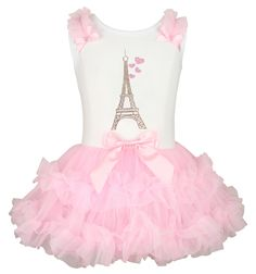 Pink Ruffle Dress, Ruffle Skirt, White Dress, Cute Outfits For Kids, Outfits For Teens, Unicorn Fashion, Paris Outfits, Ballet Clothes, Skirts For Kids