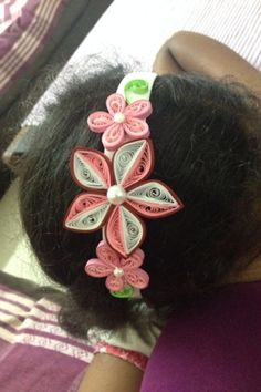 ...kraftaria..: Quilled hair bands