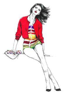 Chanel. by Diana Kuksa (Nesypova), via Behance
