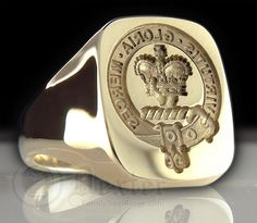 Clan Robertson Signet Ring, featured in our article on Signet rings.