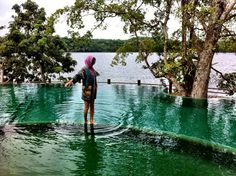Want an infinite pool in the Jungle? come to Las Lagunas Boutique Hotel in #Peten #Guatemala photo by: Alyx Kottmeier
