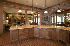Southern Trace Retreat - traditional - kitchen - dallas - Terry M. Elston, Builder
