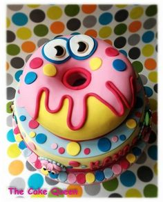 Moshi monster cake!!! - by Marianathecakequeen @ CakesDecor.com - cake decorating website