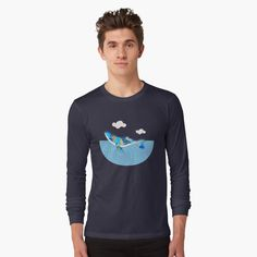 FLORAL SEA WHALE 372. by sana90 | Redbubble Sea Whale, Etsy Shop, Studio, Long Sleeve, Sleeves, Mens Tops, T Shirt, Menswear, Shopping