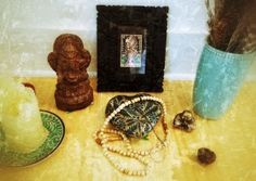 Tending and creating little shrines has become a part of my morning ritual. http://jenniferlouden.com/find-your-center
