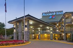 The Accent Inn Vancouver Airport hotel in Richmond BC
