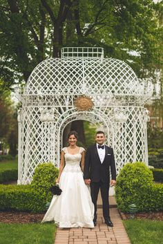 A Glamorous Interfaith Wedding at Rockleigh Country Club in Rockleigh, New Jersey