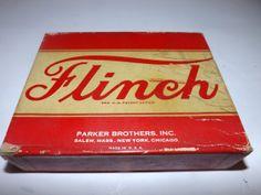 Vintage 1938 Flinch Card Game Complete by JandDsAtticTreasures, $14.00