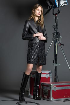 Dsquared2, Look #17 Pre-Fall 2016 - Bxy Frey