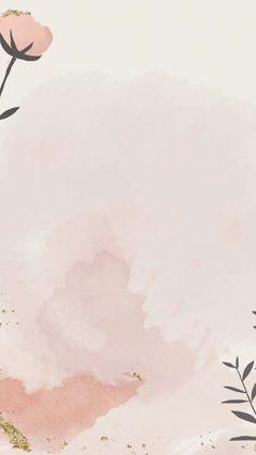 Paper Background Design, Flower Background Wallpaper, Pastel Background, Scenery Wallpaper, Wallpaper Backgrounds, Watercolor Background, Graphic Wallpaper, Pink Wallpaper Iphone, Emoji Wallpaper