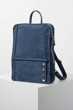 Hunter Backpack by Hammitt in Blue Size: All, Bags at Anthropologie Hermosa Beach, Card Organizer, Purses And Handbags, Fashion Backpack, Vintage Fashion, Backpacks, Anthropologie, Link, Jewelry