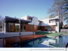 15 Geometric Modern Home Designs | Home Design Lover