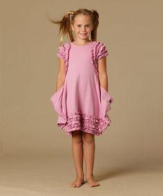 Party Pink Michelle Dress - Toddler & Girls #zulily #zulilyfinds