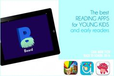 Best reading apps for young kids + early readers  | Cool Mom Tech back to school tech guide 2015
