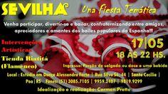 El Cajón Flamenco: Sevilha Una Fiesta Temática em Porto Alegre neste ...