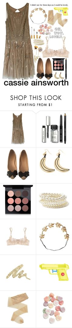 """requested  cassie ainsworth"" by commander-lexa ❤ liked on Polyvore featuring Aidan Mattox, Bobbi Brown Cosmetics, Chanel, Cheap Monday, MAC Cosmetics, Forever 21, Myla, Eddera, Urban Decay and Fogal"