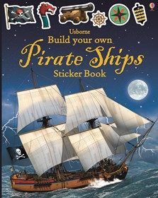 Build Your Own Pirate Ships Sticker Book: A construction toy in sticker book form with lots of different types of pirate ships to build using the stickers provided. Satisfyingly stylish and detailed artwork will appeal to children of all ages. Best Children Books, Childrens Books, Casino Theme Parties, Birthday Party Themes, Build Your Own Robot, Office Christmas, Fantasy Warrior, Book Activities, Activity Books