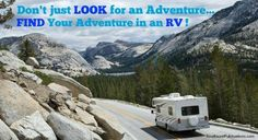 Find your adventure in an RV!