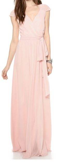 gorgeous cap sleeve wrap dress  http://rstyle.me/n/ebc9gpdpe This would be beautiful in white!