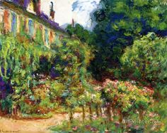 Claude Monet The Artist's House At Giverny oil painting reproductions for sale