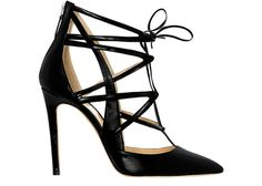 Alejandro Ingelmo's BOOMERANG heel is perfect for a night out on the town.  Click to see what we would pair it with...