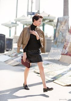 garance - such a cute look, great with the shoes even