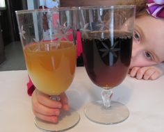 egg and soda experiment-- good for teaching the importance of dental health
