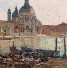 Carl Moll - Arte moderna 2016/11/23 - Prezzo realizzato: EUR 176.666 - Dorotheum Painter Artist, Gustav Klimt, Santa Maria, Art Wall Kids, Learn To Paint, Impressionist, Landscape Paintings, Landscapes, Art Nouveau