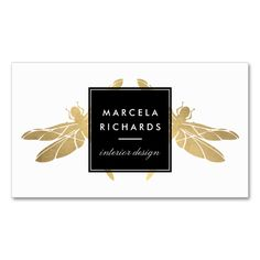 Shop Elegant Faux Gold Dragonfly Duo Rectangular Sticker created by Personalize it with photos & text or purchase as is! Elegant Business Cards, Business Card Design, Dragonfly Art, Business Names, Card Templates, Custom Stickers, Pink And Gold, Activities For Kids, Things To Come