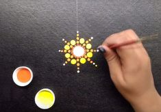 How To: MANDALA DOT ART ON CANVAS (for Beginner): 4 Steps (with Pictures)