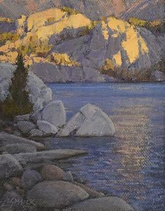 Study for What a Little Sunlight Will Do by Jean LeGassick Oil ~ 14 x 11